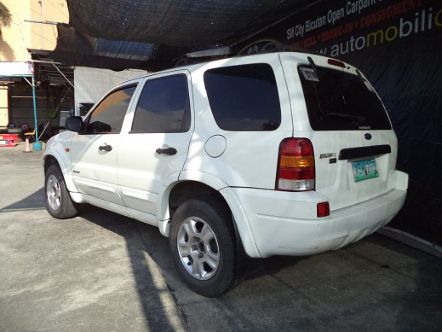 2006 Mazda Tribute - Rear View