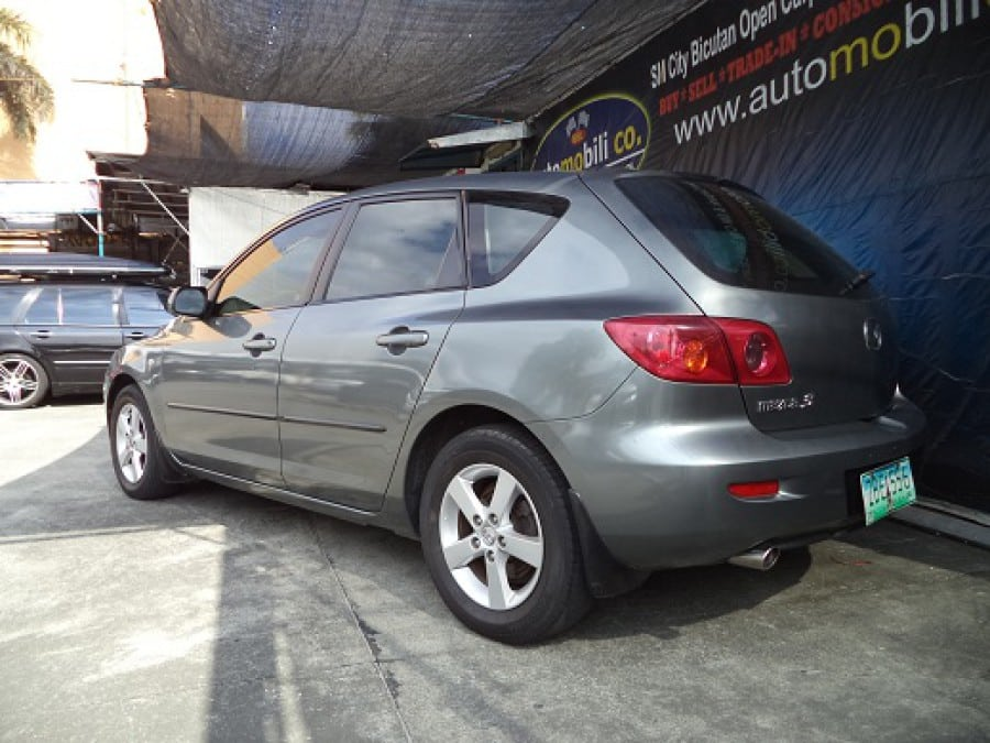 2005 Mazda 3 - Rear View