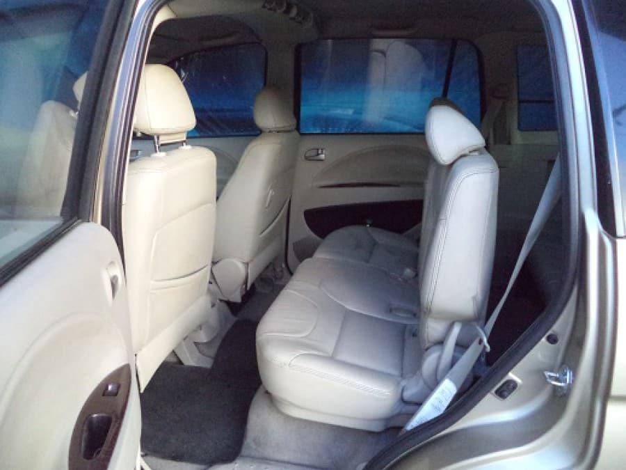2008 Mitsubishi Fuzion - Interior Rear View