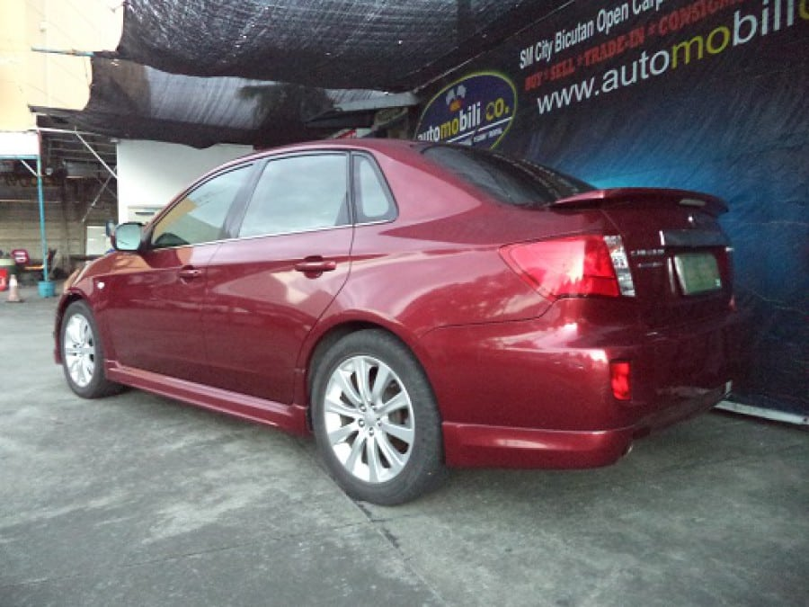 2011 Subaru Impreza - Rear View
