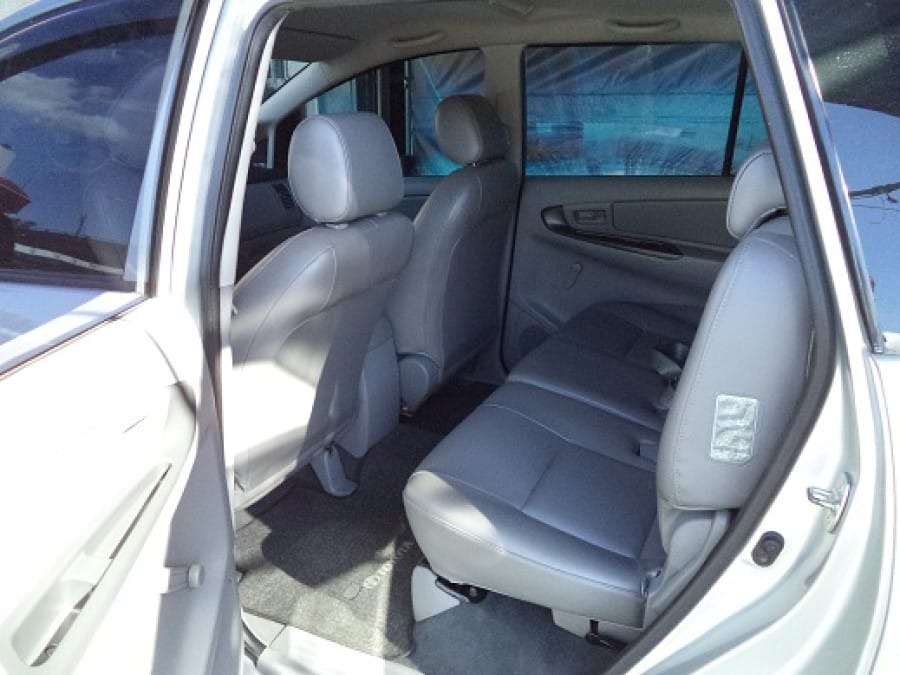 2011 Toyota Innova J - Interior Rear View