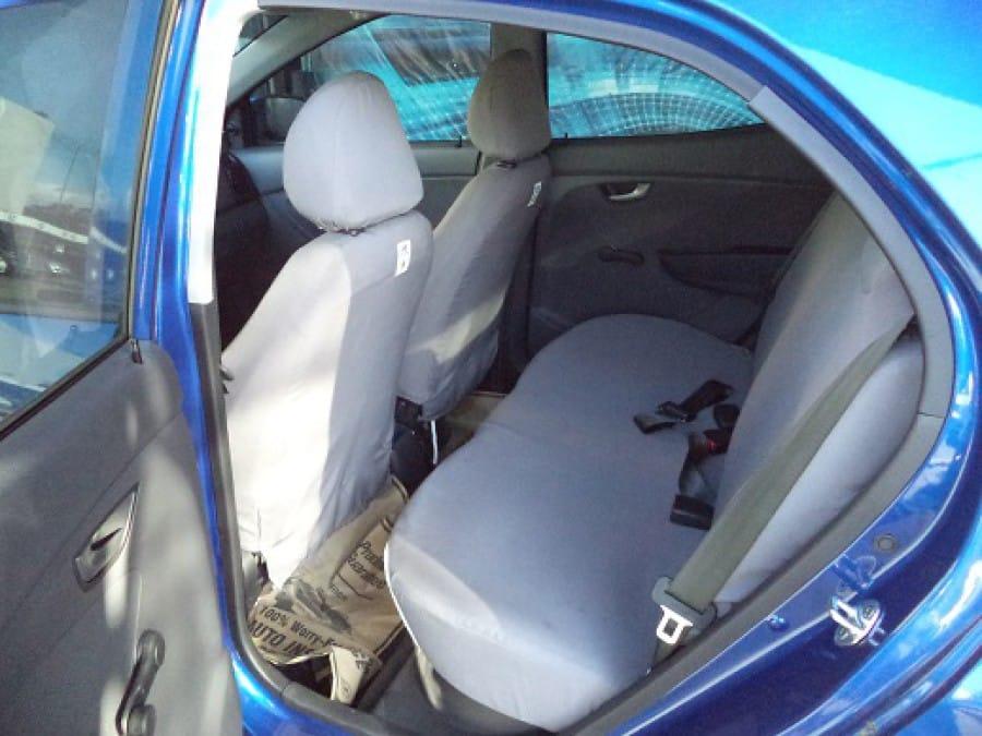 2014 Hyundai Getz - Interior Rear View