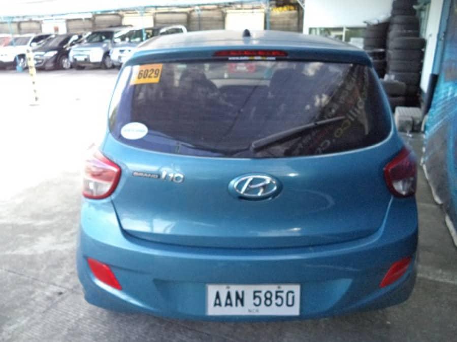 2014 Hyundai Getz - Rear View