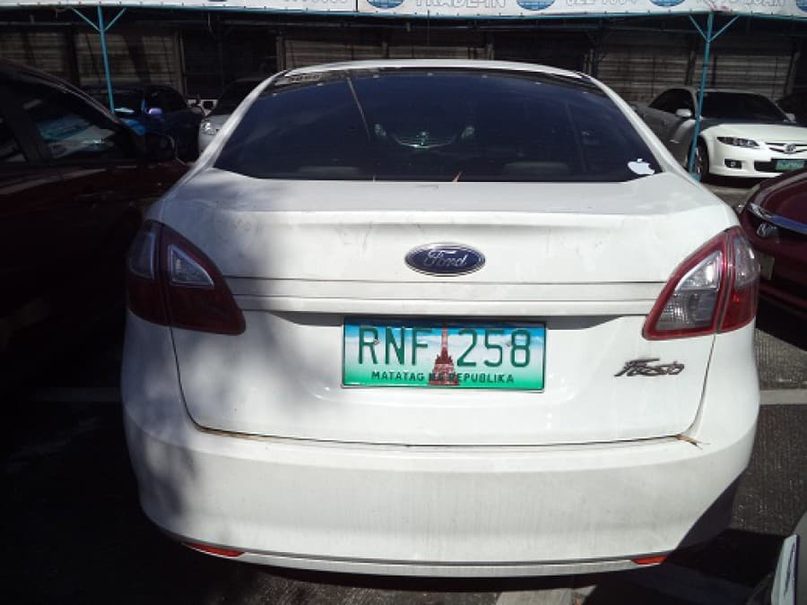 2013 Ford Fiesta - Rear View