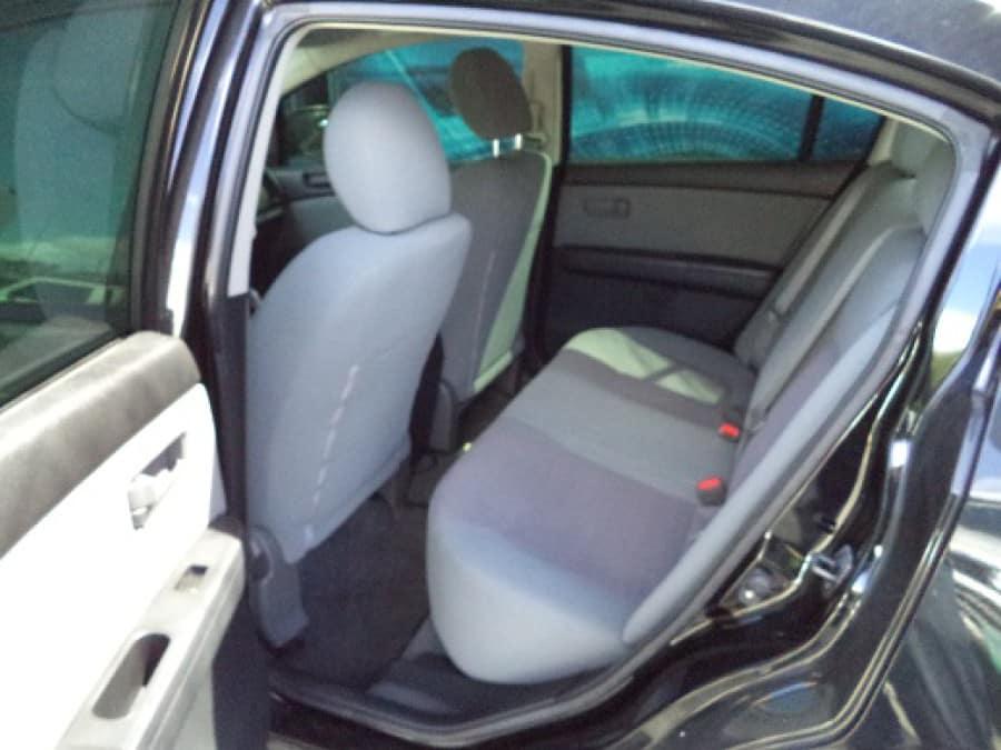 2013 Nissan Sentra - Interior Rear View