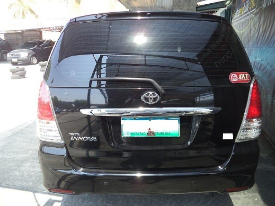 2010 Toyota Innova V - Rear View