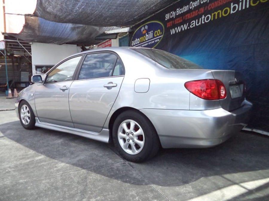 2002 Toyota Altis - Rear View