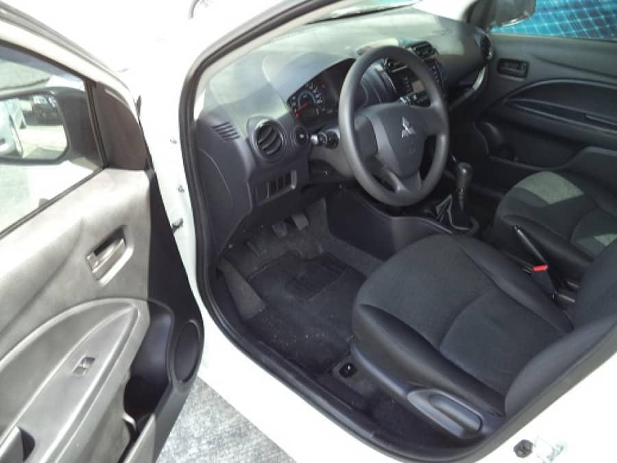 2013 Mitsubishi Mirage - Interior Front View