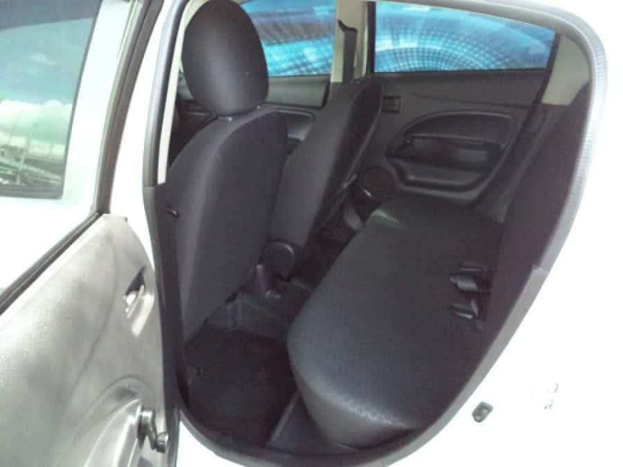 2013 Mitsubishi Mirage - Interior Rear View