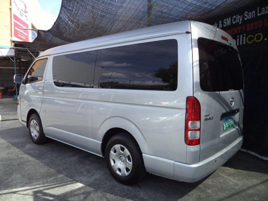 2010 Toyota HiAce - Rear View