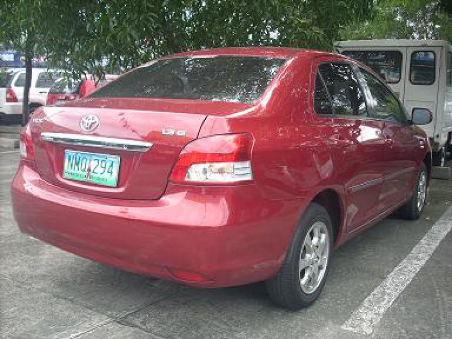 2009 Toyota Vios - Rear View