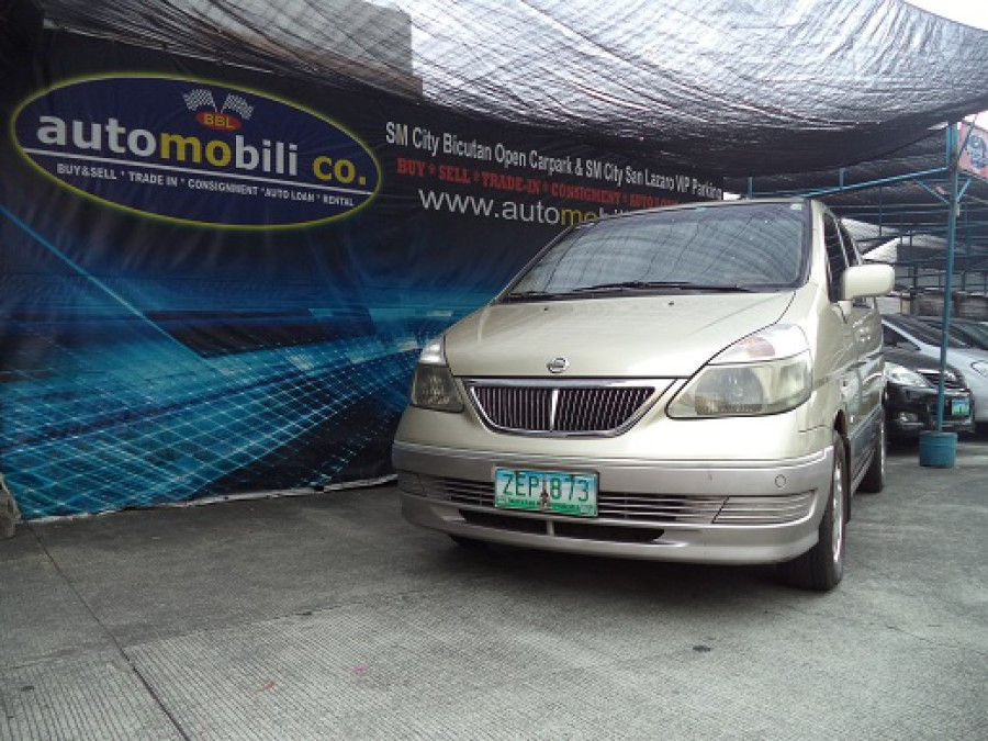 2005 Nissan Serena - Front View