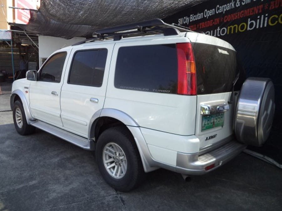 2005 Ford Everest - Rear View