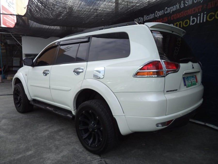 2011 Mitsubishi Montero Sport - Rear View