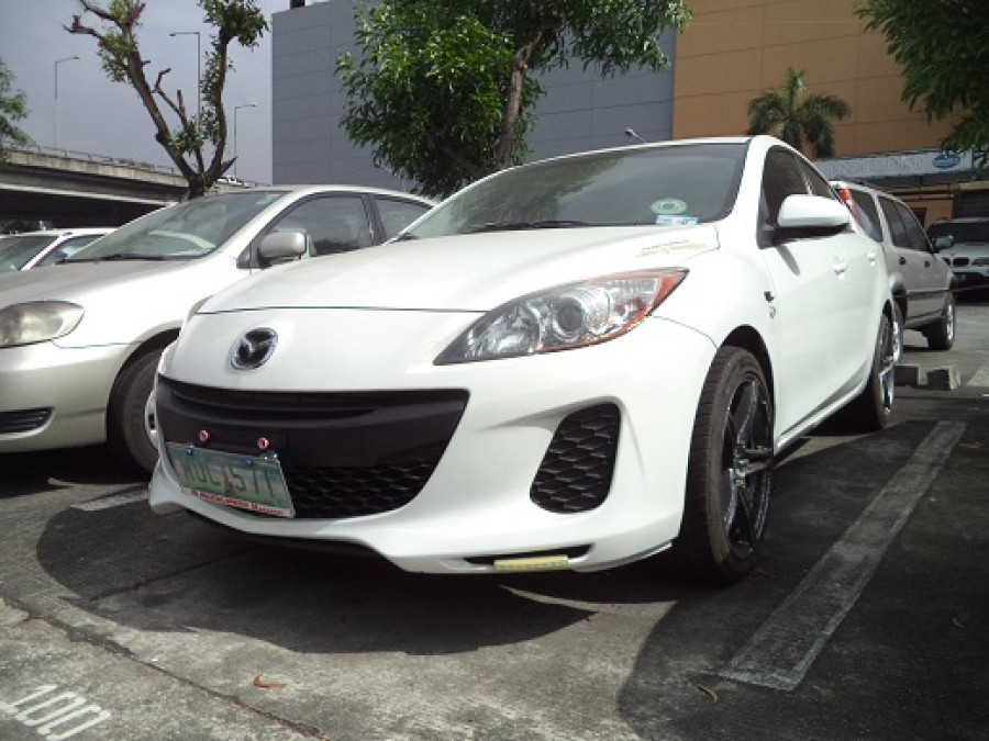 2013 Mazda 3 - Front View