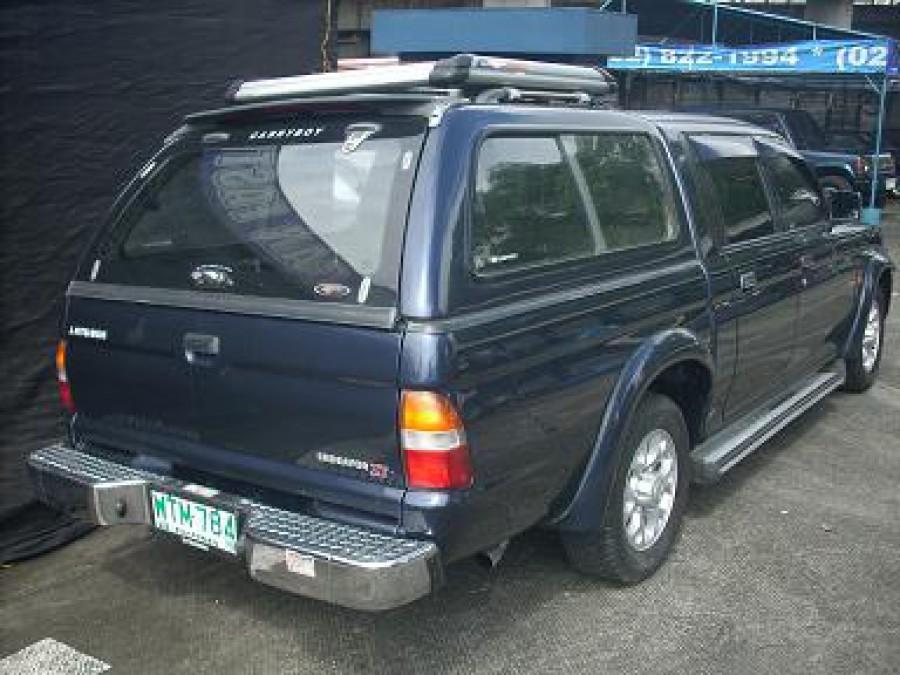 2001 Mitsubishi L200/Pick Up - Rear View