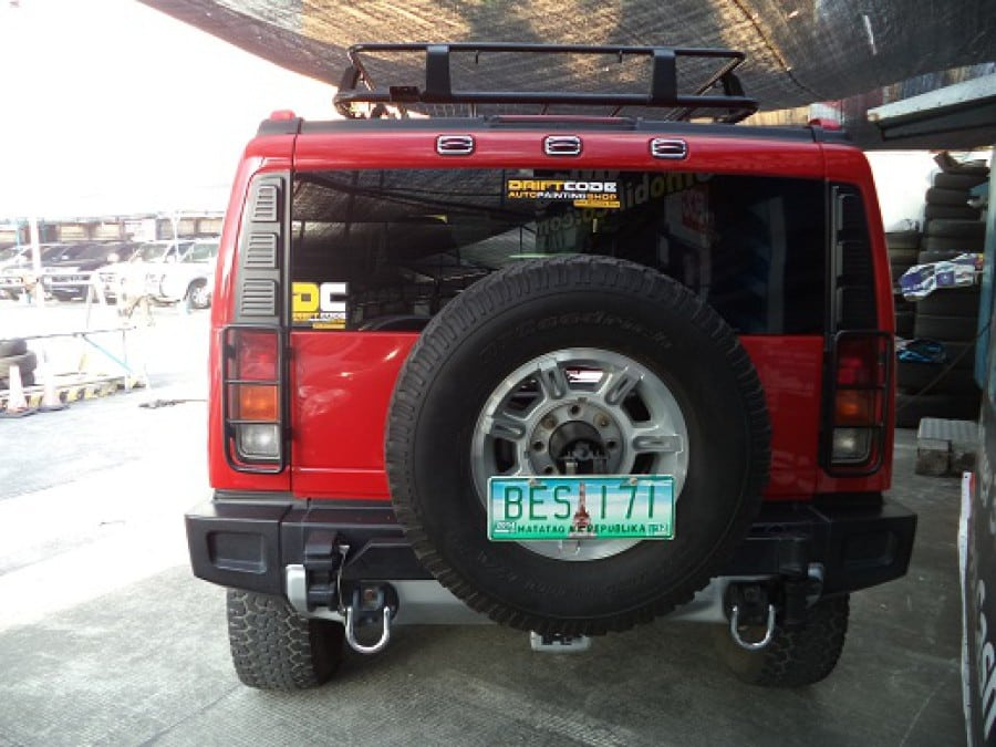 2004 Hummer H2 - Rear View