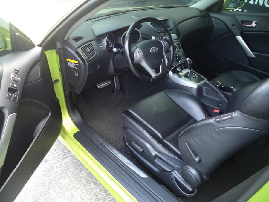 2009 Hyundai Genesis Coupe - Interior Front View