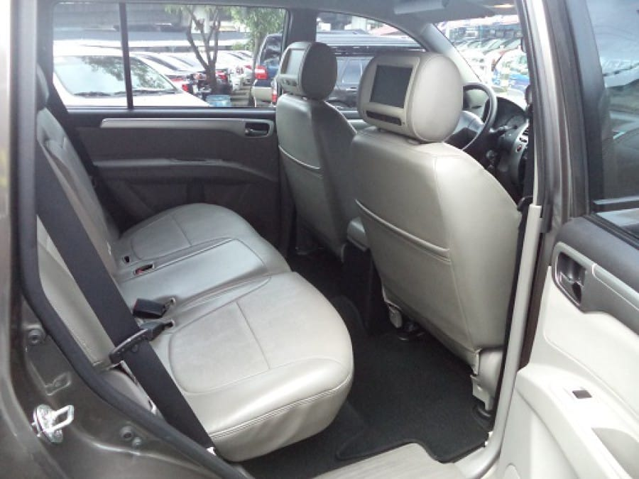 2012 Mitsubishi Montero Sport - Interior Rear View