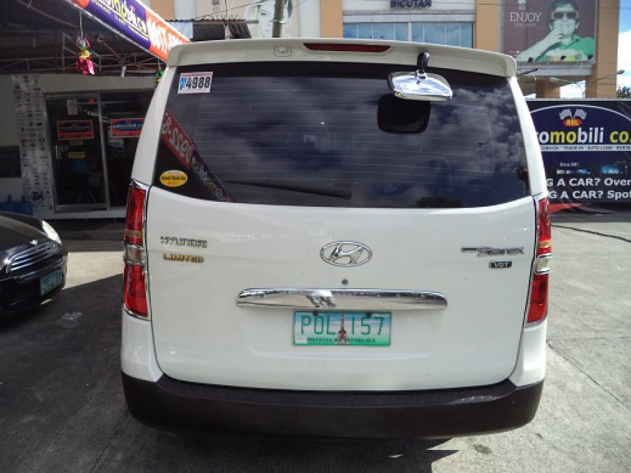 2011 Hyundai Starex - Rear View