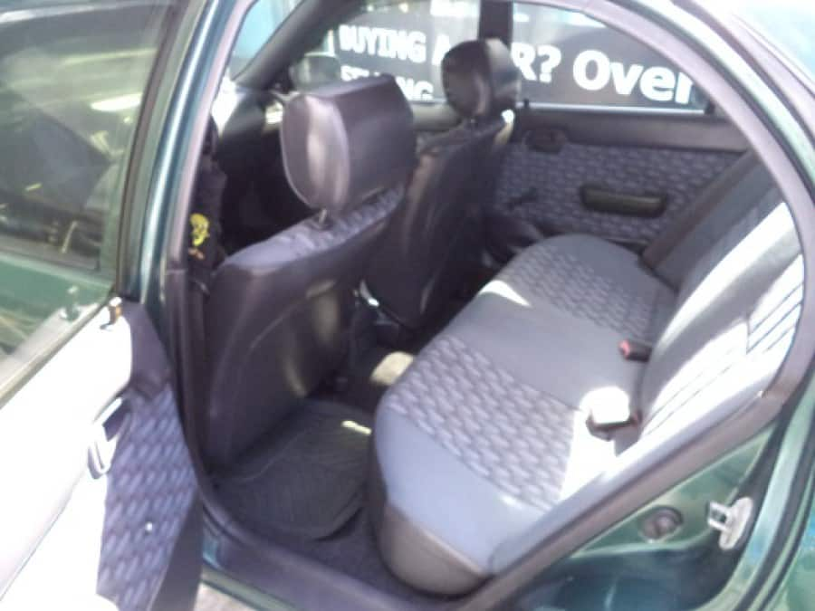 1996 Toyota Corolla - Interior Rear View