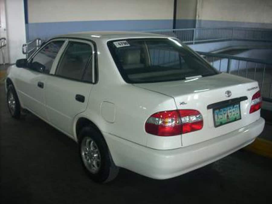 2004 Toyota Corolla - Rear View