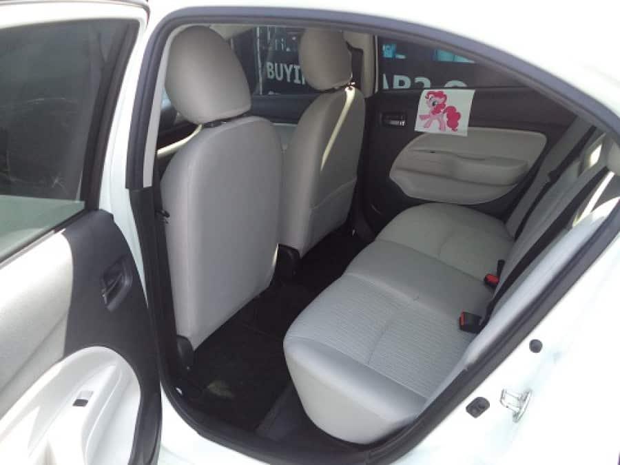 2014 Mitsubishi Mirage - Interior Rear View