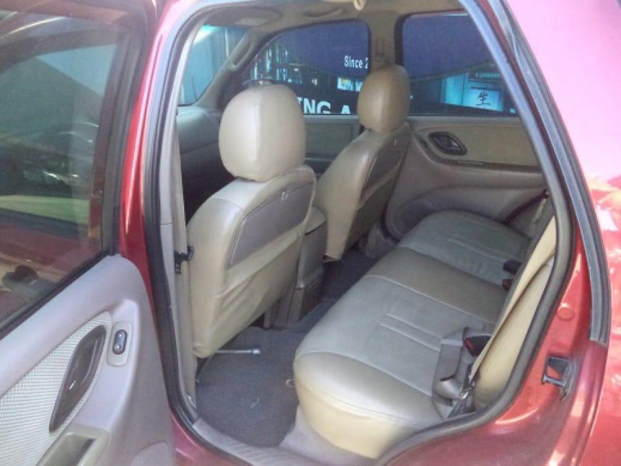 2003 Ford Escape - Interior Rear View