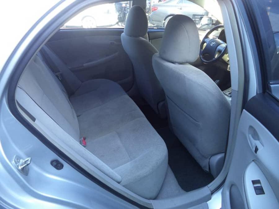 2010 Toyota Corolla Altis G - Interior Rear View