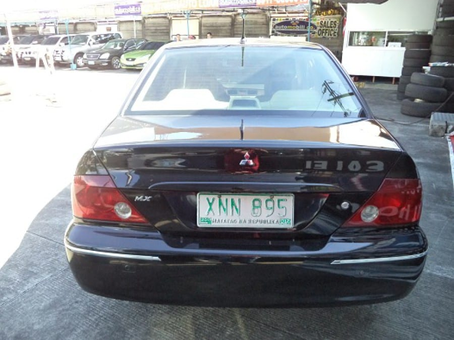 2004 Mitsubishi Lancer - Rear View
