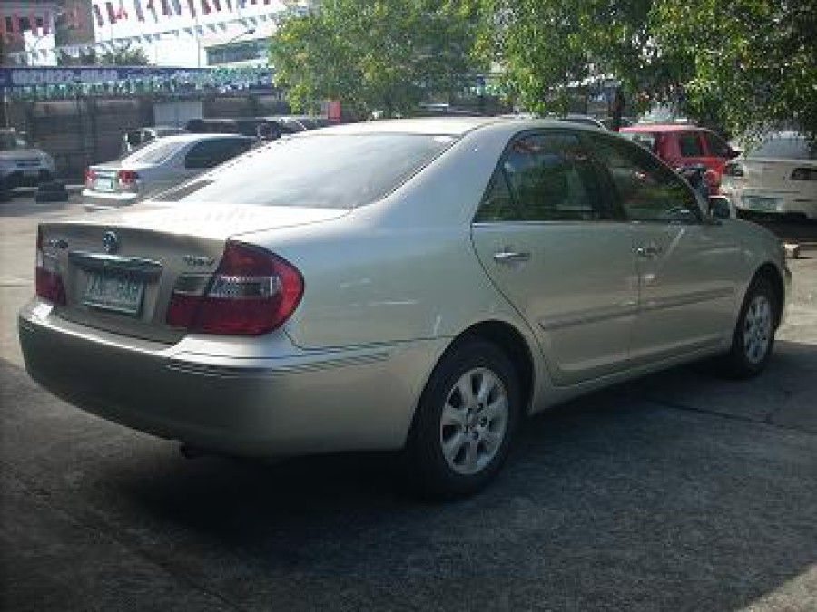 2004 Toyota Camry - Rear View