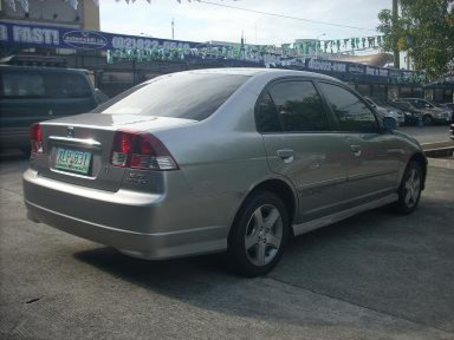 2004 Honda Civic - Rear View