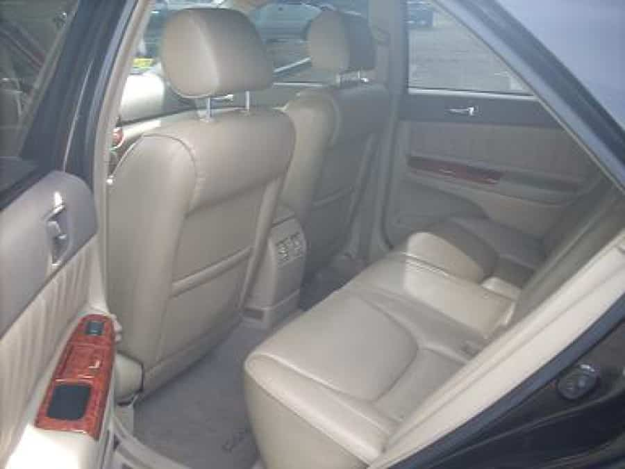 2005 Toyota Camry - Interior Rear View