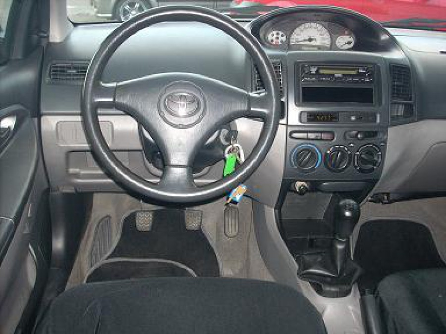 2005 Toyota Vios - Interior Front View