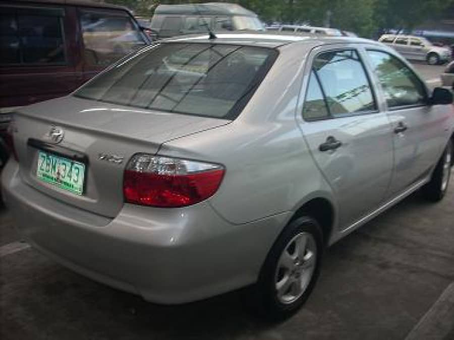 2005 Toyota Vios - Rear View
