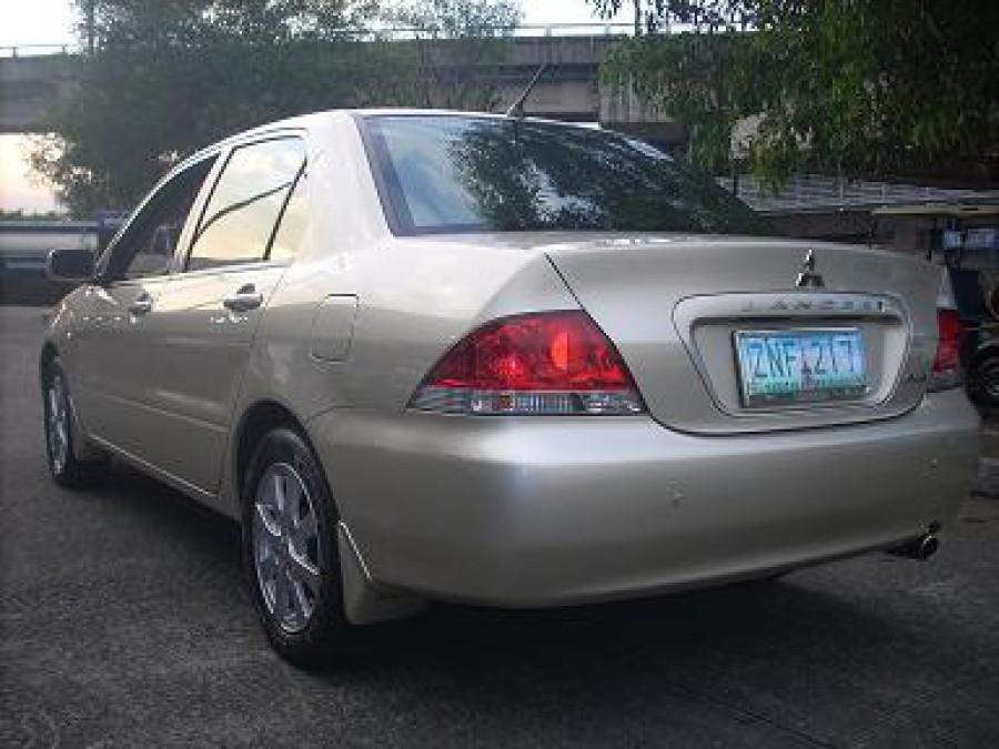 2008 Mitsubishi Lancer - Rear View
