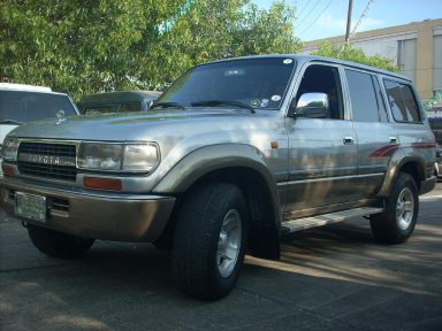 1994 Toyota Land Cruiser - Front View