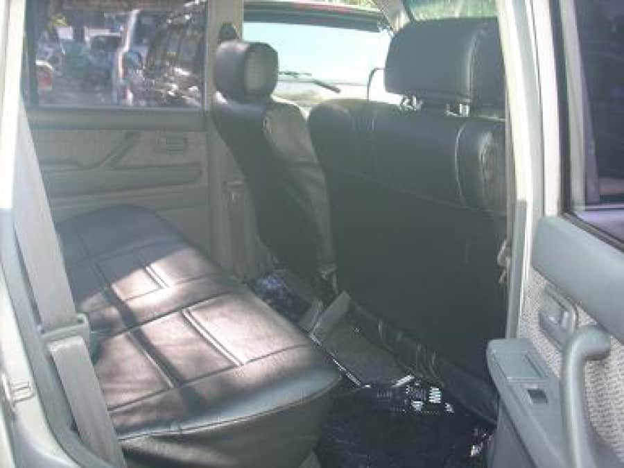 1994 Toyota Land Cruiser - Interior Rear View
