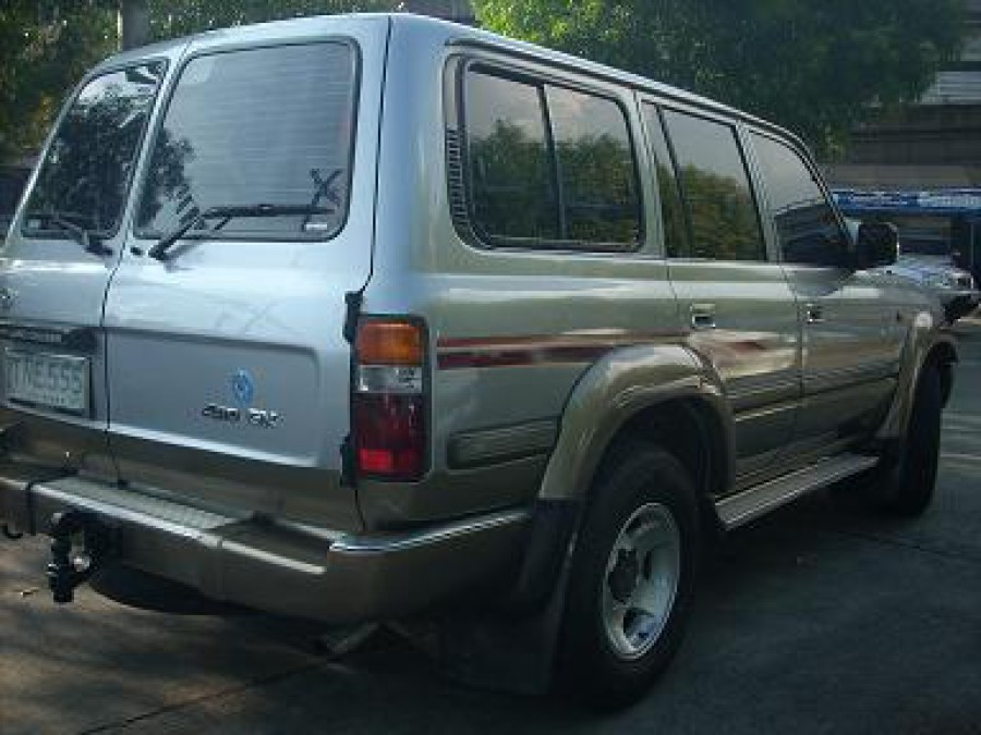 1994 Toyota Land Cruiser - Rear View