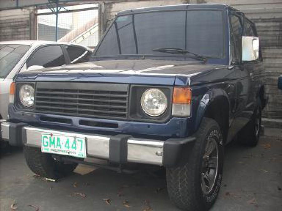 1995 Mitsubishi Pajero - Front View