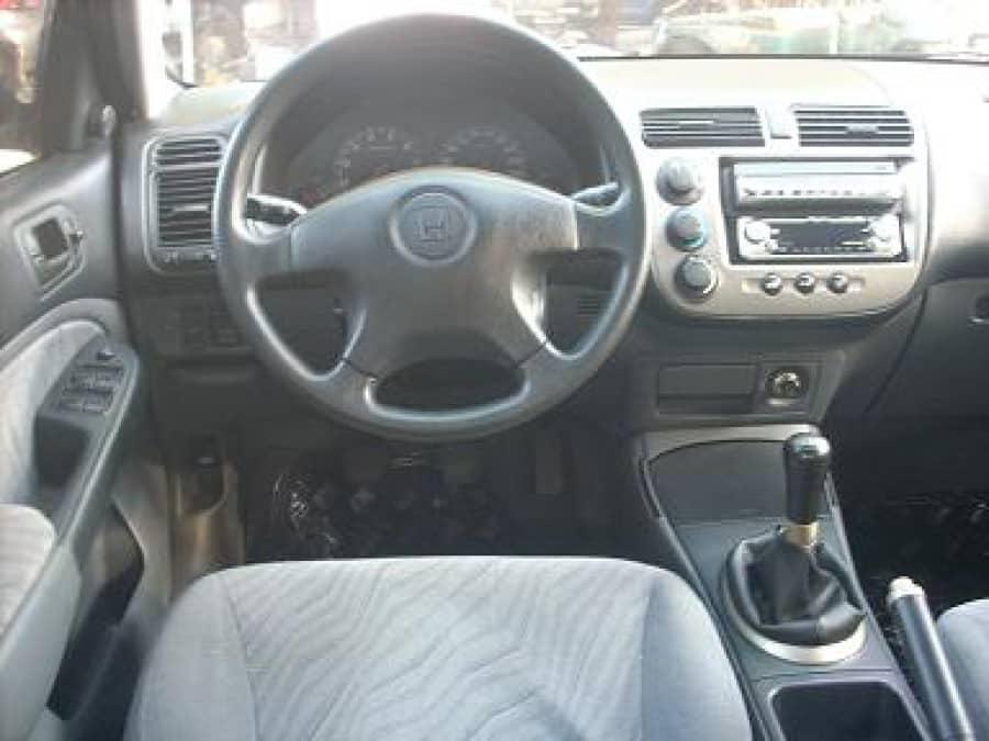 2002 Honda Civic - Interior Rear View
