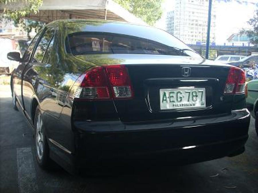 2002 Honda Civic - Rear View