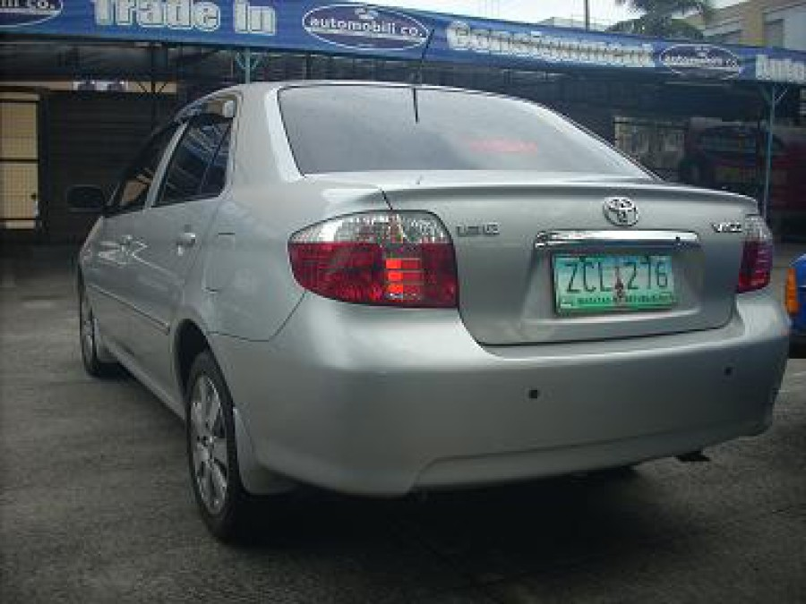 2006 Toyota Vios - Rear View