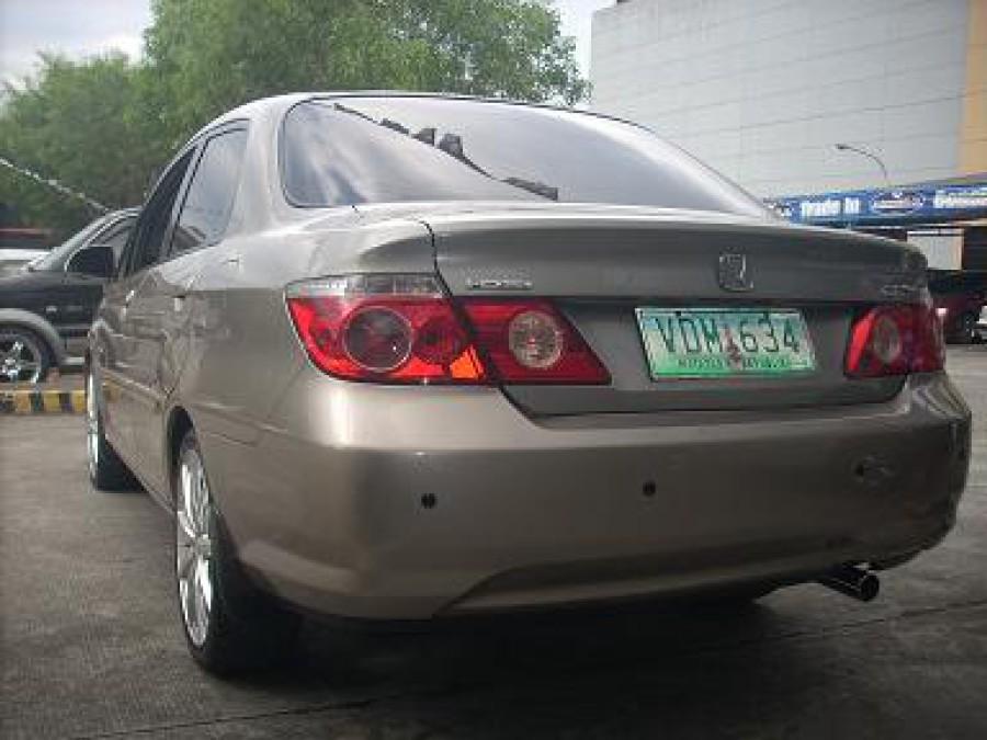 2006 Honda City - Rear View
