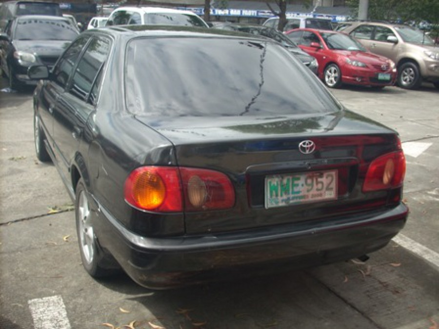 2000 Toyota Corolla - Rear View