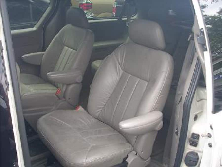 2002 Chrysler Town & Country - Interior Rear View