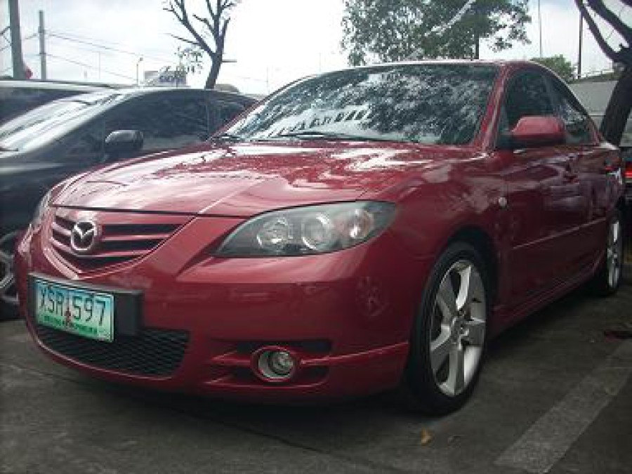 2004 Mazda 3 - Front View