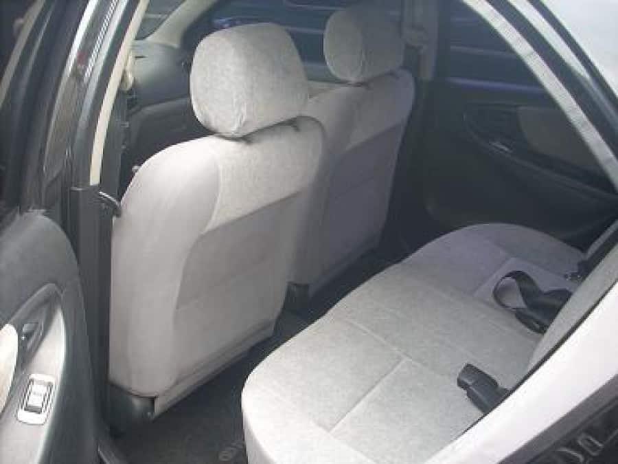 2005 Toyota Vios - Interior Rear View