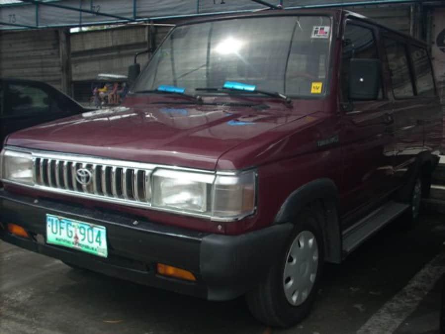1995 Toyota Tamaraw FX - Front View
