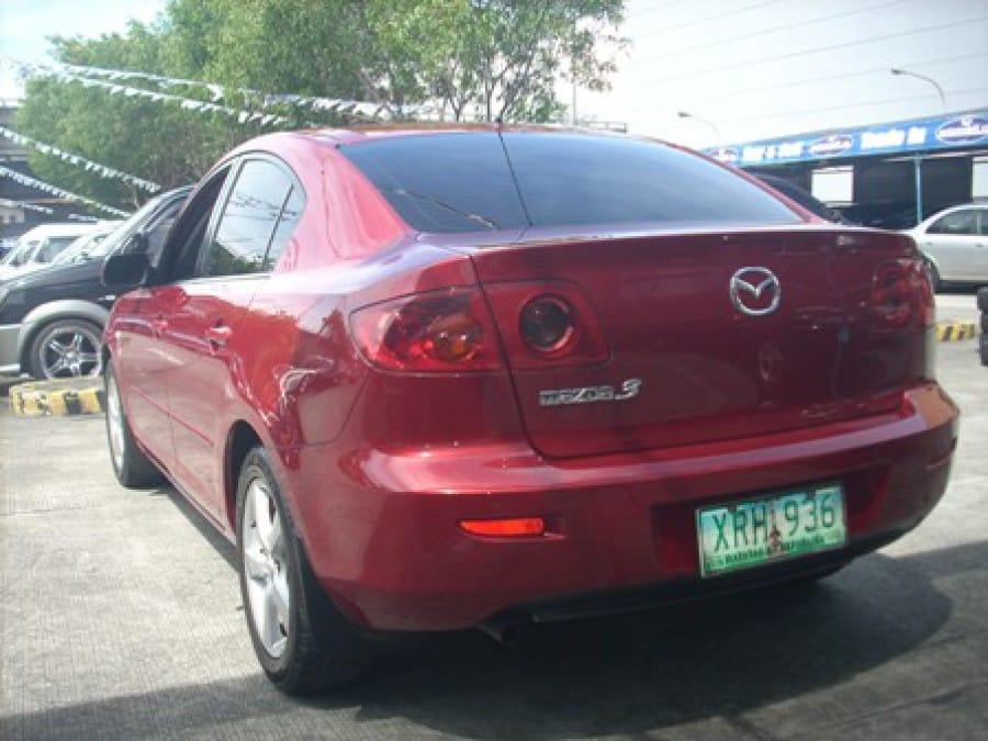 2004 Mazda 3 - Rear View